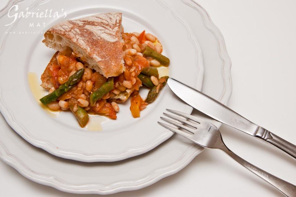 Bönrisotto med Sparris & Tomat (3)